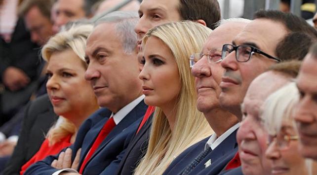 ABDnin Kudüs Büyükelçiliğinin açılışında dikkat çeken isimler