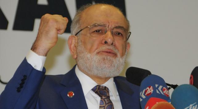 Saadet Partisi Genel Başkanı Temel Karamollaoğlu: İsrail sadece güçten anlar