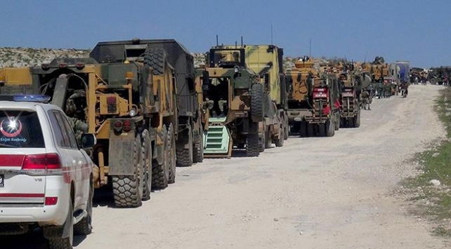 TSKdan İdlibe 12. gözlem noktası