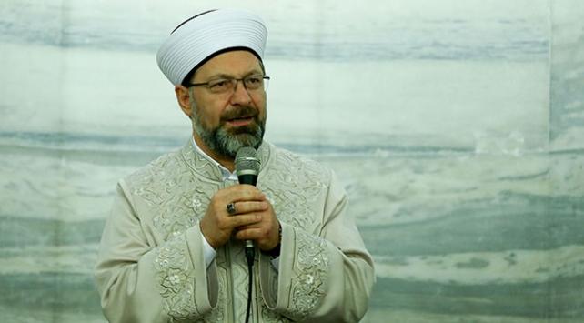 Diyanet İşleri Başkanı Erbaş: Dünya, Müslümanların hakkını hukukunu görmezden geliyor