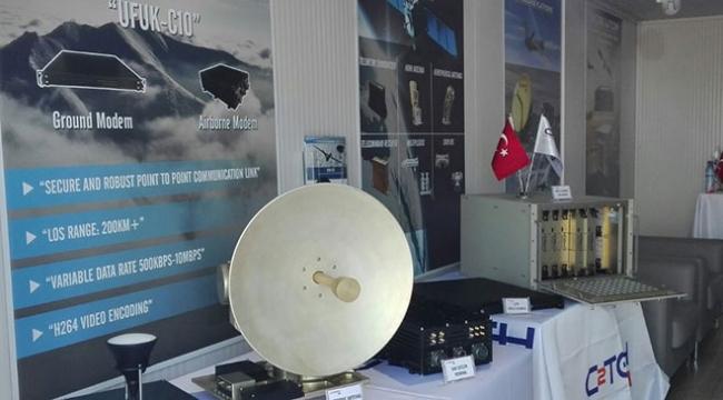 İnsansız hava araçlarına yerli anten