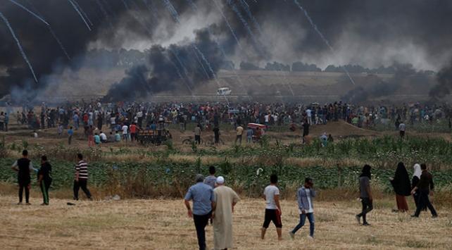 İsrailin Gazzedeki katliamına bir tepki de Lübnandan