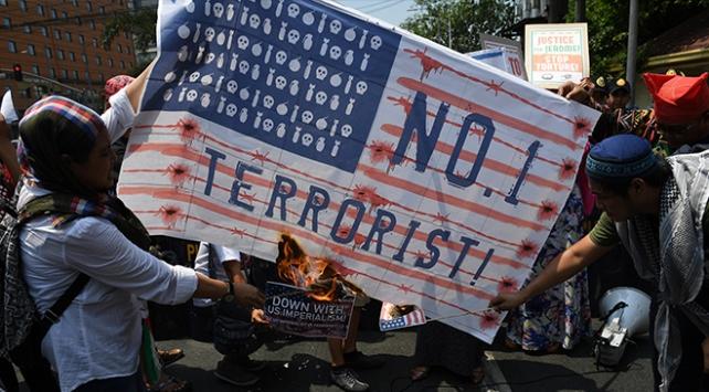 Filipinlerde İsrail ve ABD protestosu