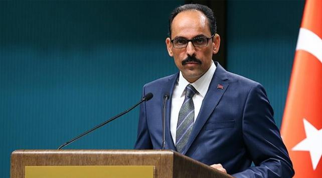 Cumhurbaşkanlığı Sözcüsü Kalından Olağanüstü İslam Zirvesi açıklaması