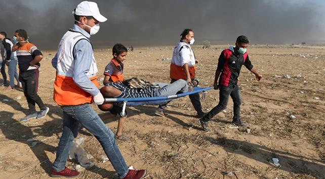 İsrail askerlerinin yaraladığı 54 Filistinli bitkisel hayatta