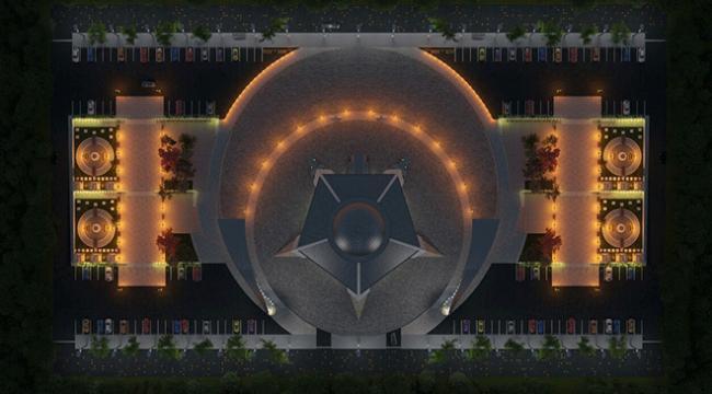 """Sivasta """"Ay yıldız"""" şeklinde cami inşa ediliyor"""