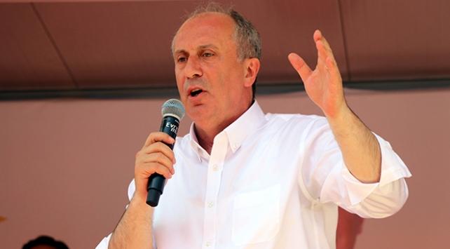 CHP Cumhurbaşkanı Adayı İnce: Müslümanlar Amerika ve İsrail iş birliğiyle katlediliyor