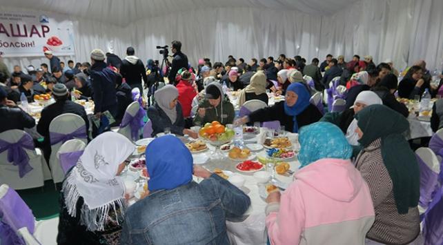 Kazakistanda ilk iftar yapıldı