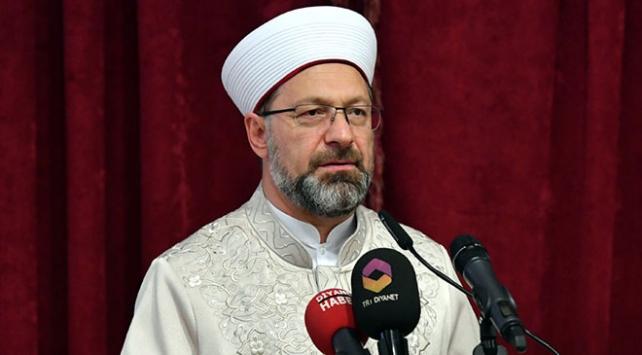 Diyanet İşleri Başkanı Erbaş: İftar yapamayan milyonlarca Müslüman var
