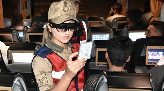 Jandarmanın Tak-Bul Gözlüğü denetimleri hızlandırıyor