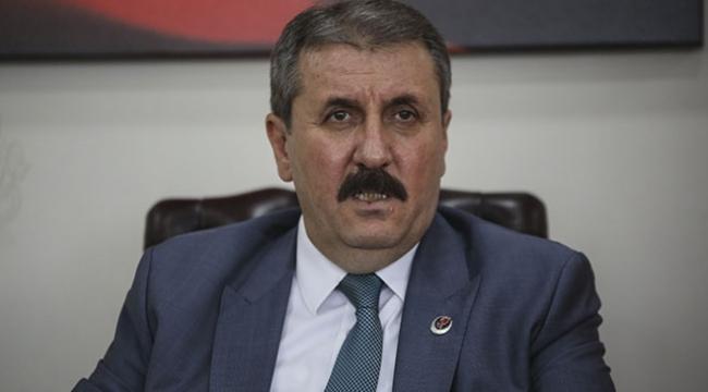 BBP Genel Başkanı Destici: Filistin toprakları tekrar Filistinlilerin olacaktır