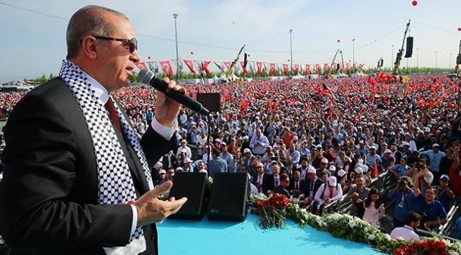 Cumhurbaşkanı Erdoğan: Ahlakı olmayan zalimin anladığı tek dil, güçtür