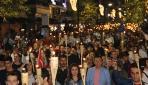 """Samsunda """"Fener Alayı ve Gençlik Festivali Yürüyüşü"""" düzenlendi"""