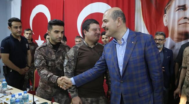 İçişleri Bakanı Süleyman Soylu: Terör örgütlerinin son kırıntıları kaldı