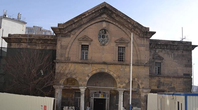 Kayseri Meryem Ana Ermeni Kilisesi kütüphane oluyor