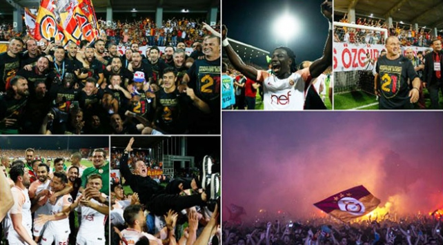 Spor Toto Süper Ligin şampiyonu: Galatasaray