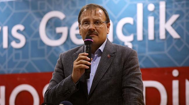Başbakan Yardımcısı Çavuşoğlu: Kudüs meselesi her Müslümanın imani meselesidir