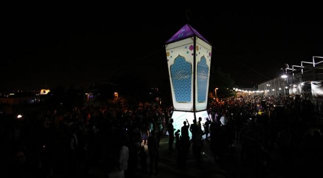 Doğu Kudüsün en büyük kandili Ramazan ayı boyunca ışıklandırılacak