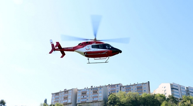 Ambulans helikopterlerle 29 bine yakın hasta taşındı
