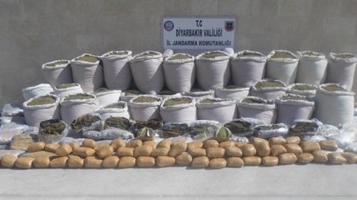 Diyarbakırda terör örgütü PKKnın finans kaynaklarına darbe