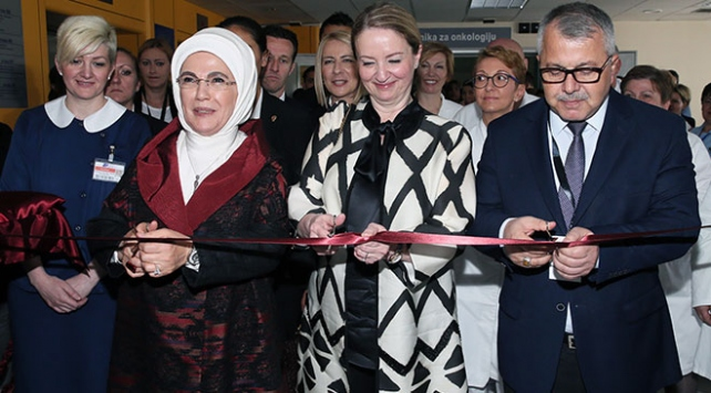 Emine Erdoğan, Bosna Hersekte TİKAnın açılışına katıldı