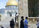 284 fanatik Yahudi, Mescidi Aksa'ya baskın düzenledi