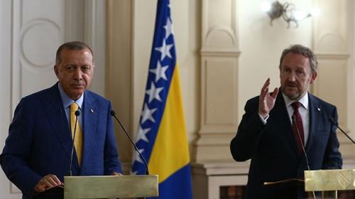 Bakir İzetbegovic: Türkiye ile Bosna Hersek, muhteşem ilişkilere sahip