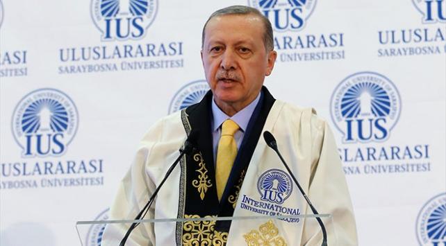 Cumhurbaşkanı Erdoğan: Dünya, BMGKnın 5 üyesine teslim olacak olursa yandık