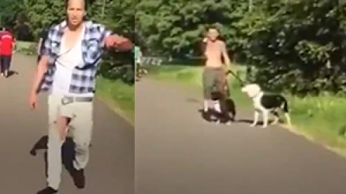 Almanyada Suriyeli aileye köpeklerle ırkçı saldırı