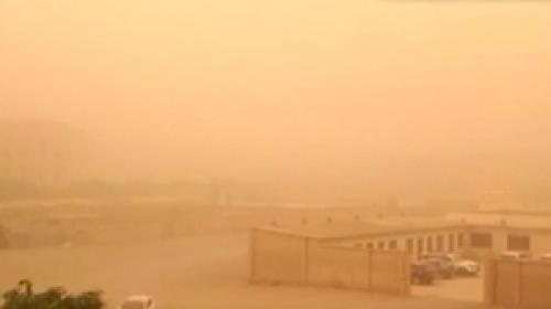 Çindeki kum fırtınası hayata durma noktasına getirdi