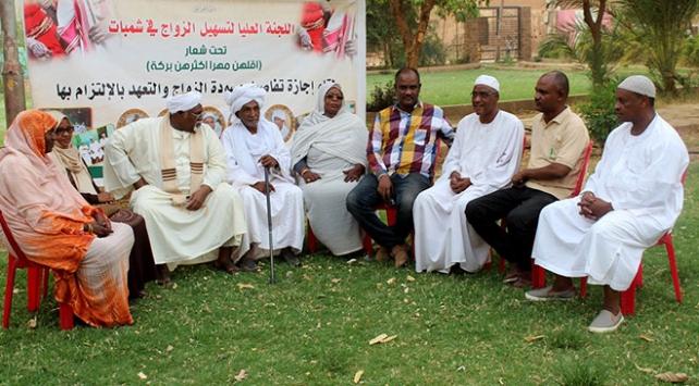 Sudanda başlık parasıyla mücadele için dernek kuruldu