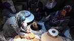 İmece usulü hazırlanan yemekler iftar sofralarında