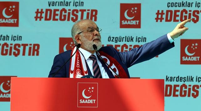 Saadet Partisi aday listesini YSKya verdi