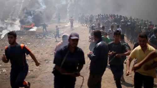 """Osmanlı yönetiminden İsrail ablukasına """"Filistin"""""""