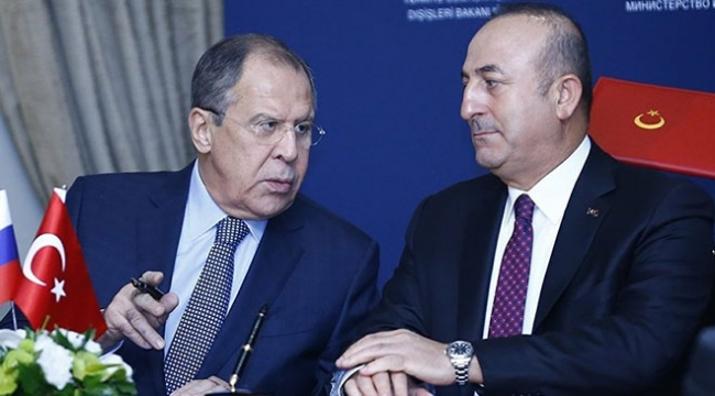 Bakan Çavuşoğlundan Rus mevkidaşına tebrik telefonu