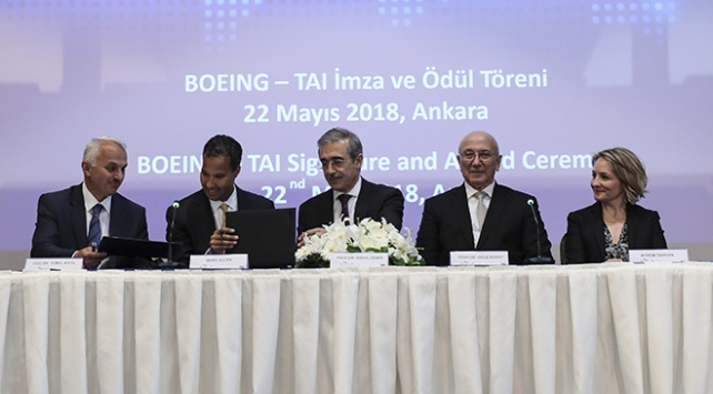 TAI ile Boeing arasında 200 milyon dolarlık anlaşma