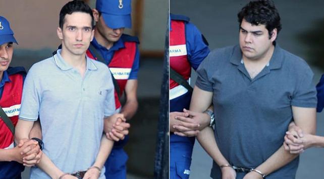 Yunan askerlerinin tutukluluk hallerinin devamına karar verildi