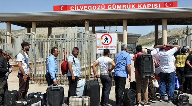 Cilvegözü Sınır Kapısında ramazan geçişleri sürüyor