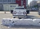 Adana'da 3 bin 200 paket kaçak sigara ele geçirildi