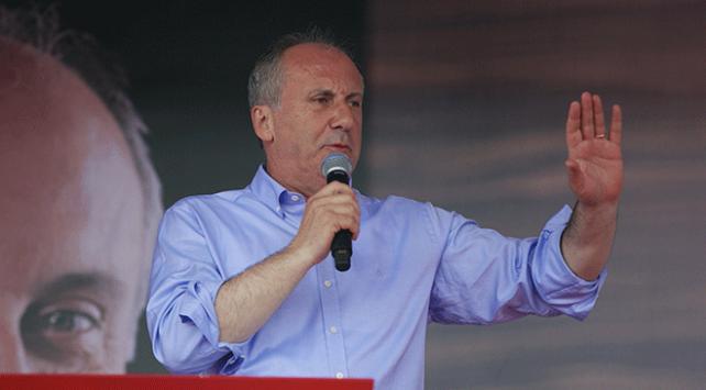 CHPden Muharrem İncenin seçim kampanyasına bağış