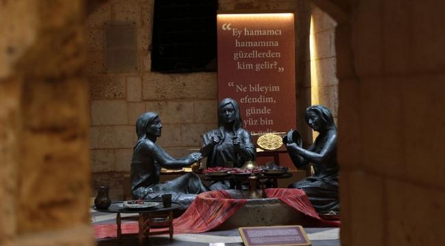 Gaziantepteki Hamam Müzesi ziyaretçilere nostalji yaşatıyor