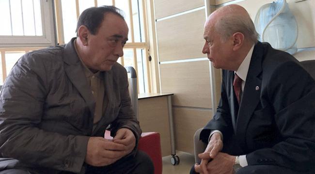 MHP Genel Başkanı Bahçeli, Alaattin Çakıcıyı ziyaret etti
