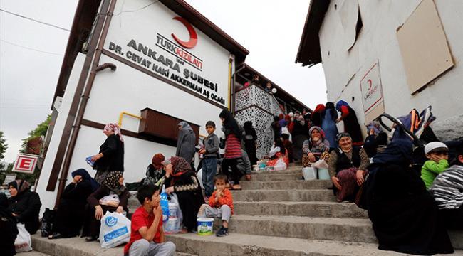 Türk Kızılayının aş ocağı bir asırdır ihtiyaç sahiplerini doyuruyor