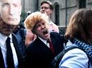 Demokratların kalesi New York'ta Trump protestosu