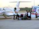 Ambulans uçaklarla 12 bine yakın hasta taşındı