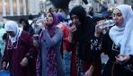 New Yorkta göçmenlere destek için sokak iftarı
