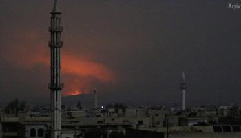 Suriyede rejime ait hava üssünün vurulduğu iddiası