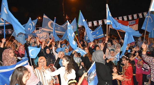 Türkmenlerin seçim protestosu 12. gününde
