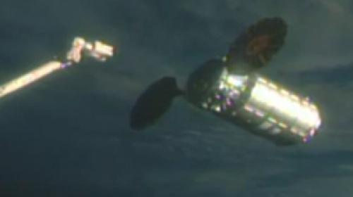 NASAnın kargo roketi, Uluslararası Uzay İstasyonuna ulaştı