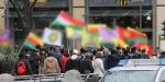 Almanyada miting herkese yasak değil, HDPye serbest